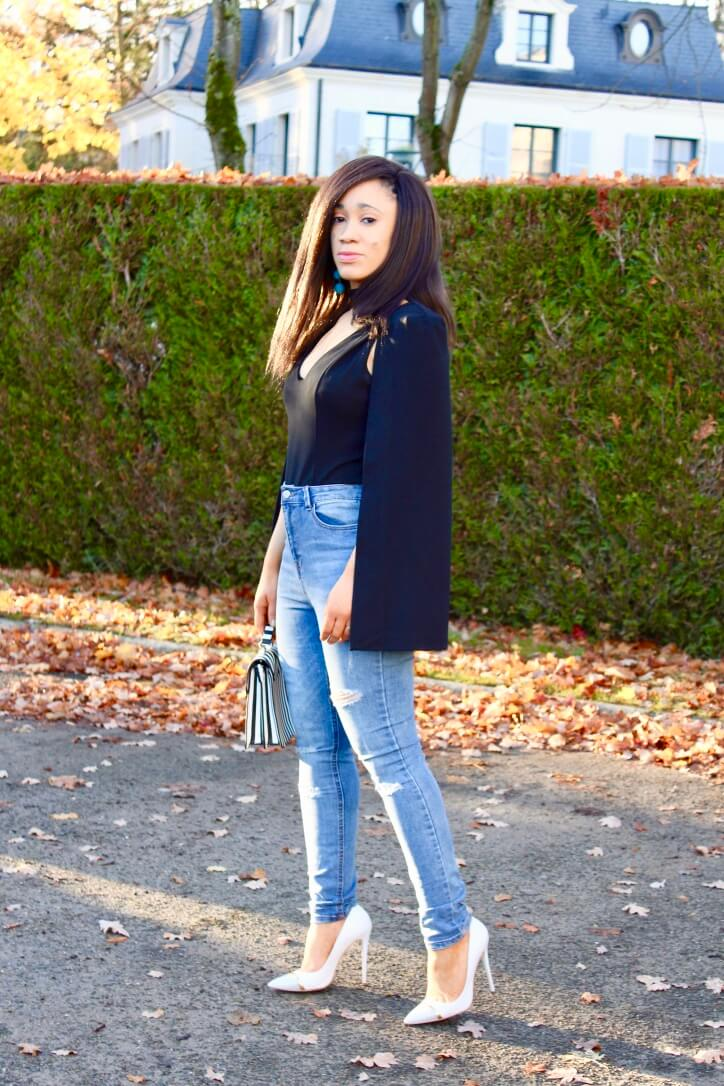 Anna Fashion Therapy Look casual chic en jean