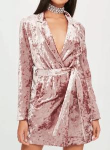 Robe beige croisée Anna Fashion Therapy