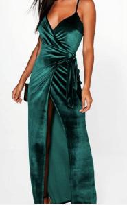 Robe longue cache coeur Anna fashion therapy