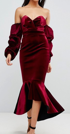 Robe mi longue ourlet Anna Fashion Therapy