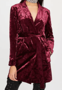 Robe rouge croisée Anna FAshion Therapy