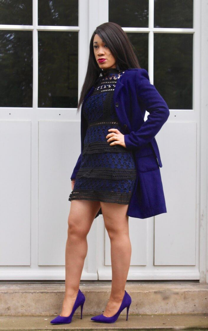 Idée de look violet