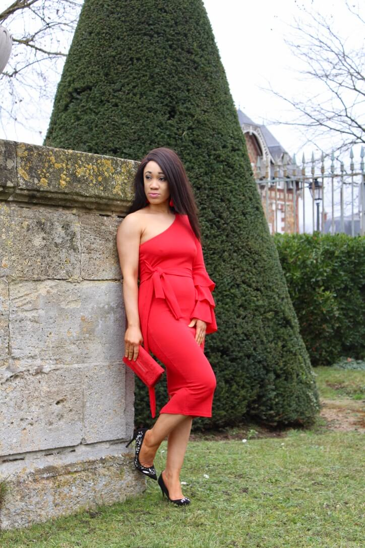 robe rouge saint valentin