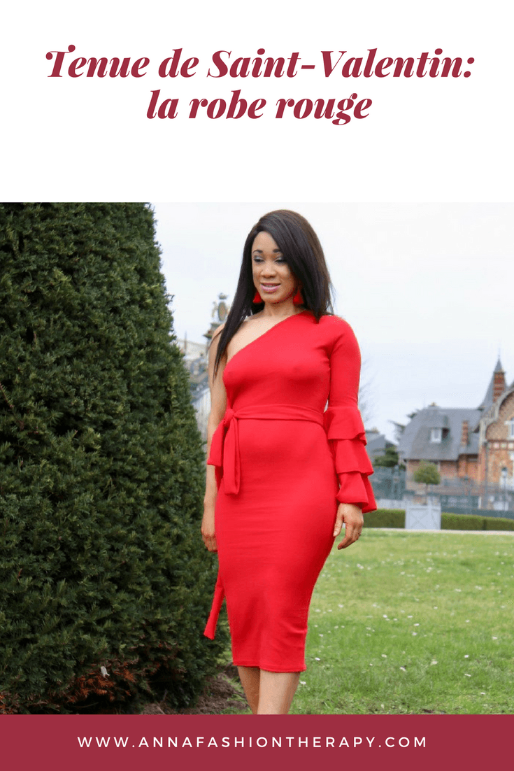 Tenue-de-Saint-valentin-robe-rouge