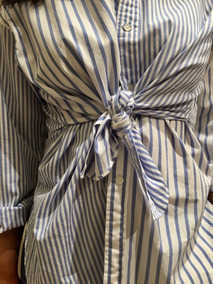 chemise-rayures-bleues