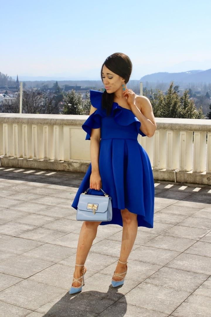 Look nuances de bleu