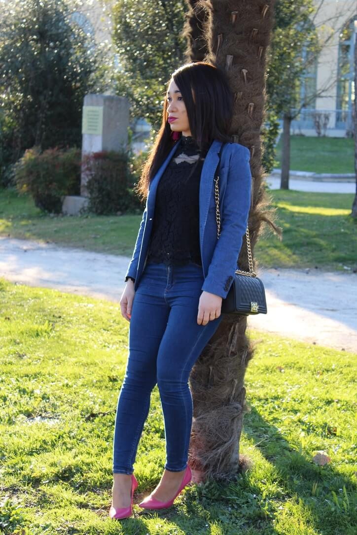 total look denim